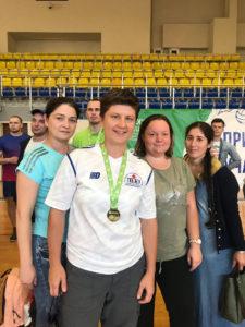 Анна Федотова, победитель в армрестлинге