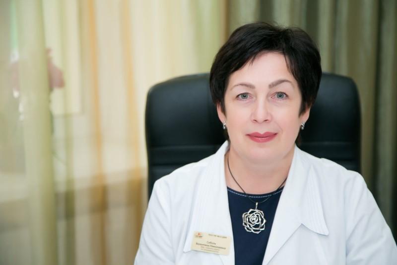 Заместитель главного врача по эпидемиологии ГКБ № 13 Валентина Николаевна Соболь